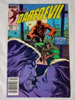 Vintage Daredevil Comic by Marvel Comic