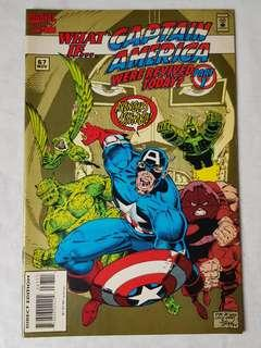 Vintage Captain America Comic by Marvel Comic