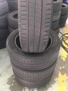 Tayar Second195/55/16 Michelin 1set 4pcs