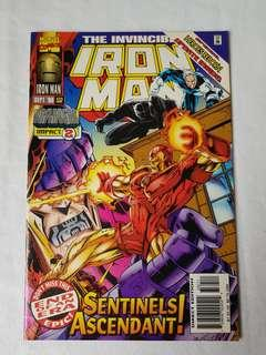Vintage Iron Man Comic by Marvel Comic