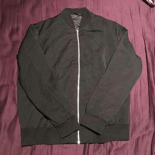 Uniqlo Black Bomber Jacket