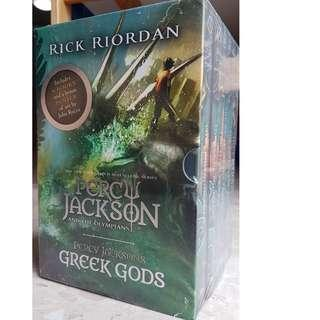 Percy Jackson Boxed set (Brand New)