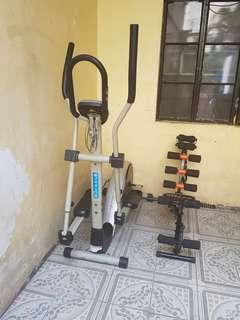 Magnetic Elliptical Bike and Abs Exerciser