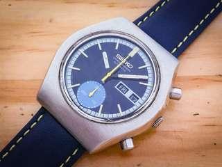 Vintage Seiko chronograph 計時 6139
