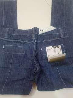 Slim legs straight cut tight jeans size 27 low waist