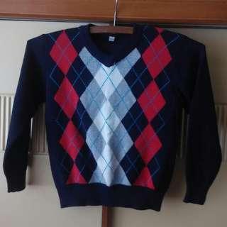 兒童     長袖衫     冷衫     child sweater