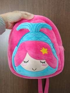 Tas anak mermaid pink