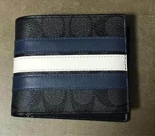 Coach Varsity Signature Wallet (Ideal as gift!)