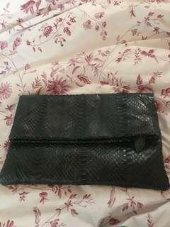 Snake Skin Clutch Perfect for Formal Events