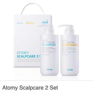 atomy Scalpcare Hair Shampoo and conditioner