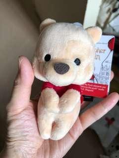 Winnie the Pooh 緣子公仔 維尼熊