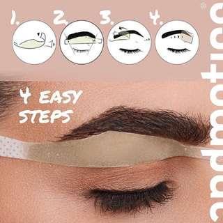 Wax strips hair removal for Brows (cabut bulu untuk bulu kening)