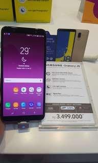 Samsung galaxy J8 new bisa cash dan kredit cukup ktp