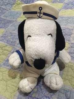 Mcdonald's Sailor Snoopy Stuffed Toy