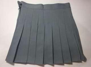 Grey High Waist Skirts