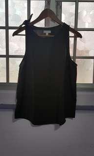 Army green sleeveless top