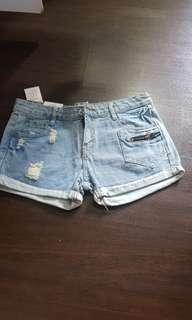 Denim Shorts brand new.. 1 piece only