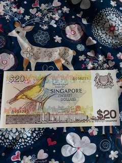 $20 Bird note