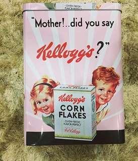 Kellog's Corn Flakes Tin