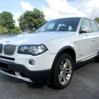 BMW X3 2008 MILAGE 70KM