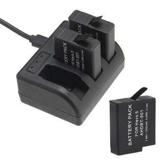 全新GoPro HERO 5/6/7 OEM 代用鋰電池 AHDBT-501 Camera Li-ion Battery 1250mAh