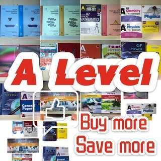 A level books