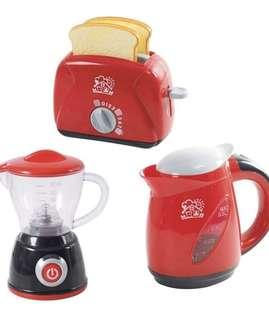 Brand New PlayGo Chef Kitchen Collection (My Toaster, My Blender, Deluxe Kettle)