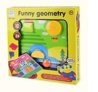 FUNNY GEOMETRY GAME