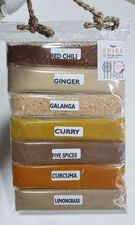 SENSORIAL ACTIVITY - SMELLING - DIFFERENT SPICES - SPICE PACK