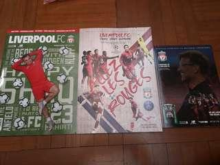 Liverpool Home Programmes and Monthly Magazine
