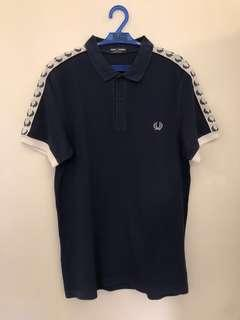 Fredy Perry Navy Blue Sportswear Polo Shirt
