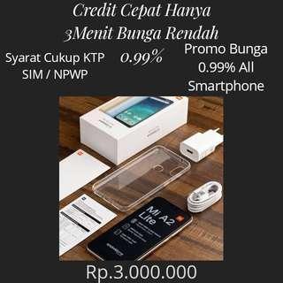 Mi A2 Lite Cash Dan Credit Promo Bunga 0.99%