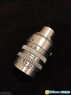 Kodak 38mm F2.5 電影鏡
