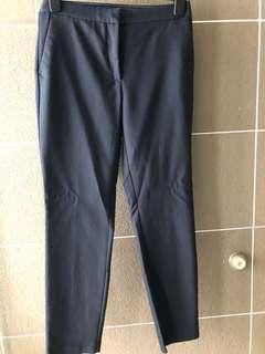Zara Work Trousers (Navy)