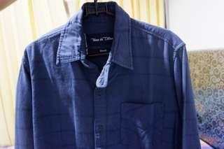 Indigo Stripe Shirt Tenue De Attire