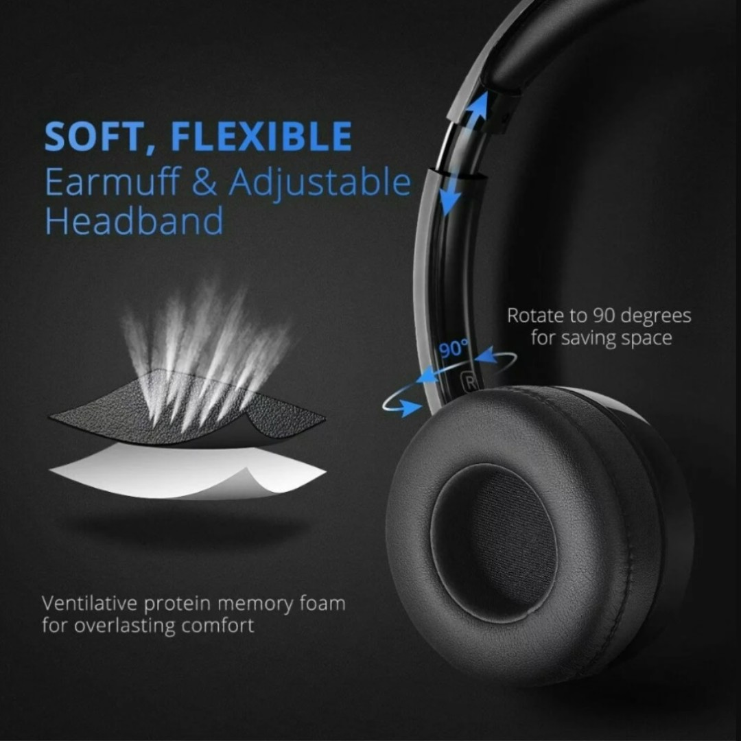 e92c931bd67 1300) Mpow 071 USB Headset/ 3.5mm Computer Headset with Microphone ...