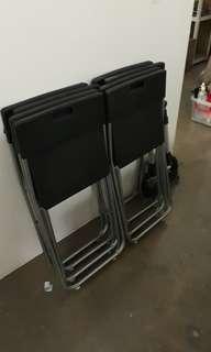 Folding chairs $10 per piece