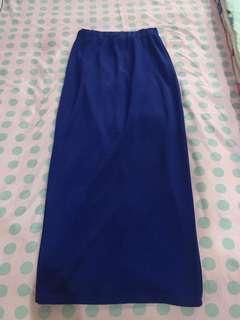 Long Skirt - Rok Panjang Biru