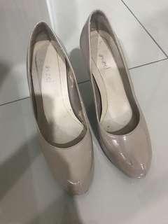 5inch nude heels