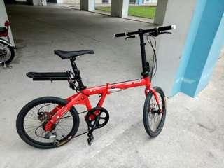 Java Folding Bike