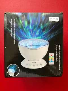 LED Projector Night Light Bedside Lamp