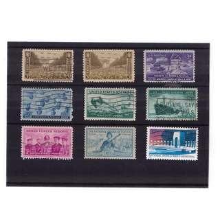 U.S. World War II Stamp Stockcard
