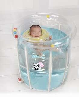 嬰兒游泳池bb(連嬰兒專用水泡)