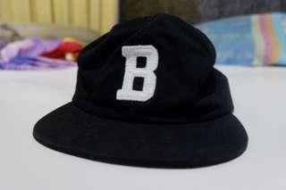 "Gravity Element Baseball Cap ""B"" Black"