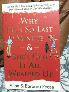 Allan & Barbara Pease - Why He's so Last Minute & She's got it all wrapped up