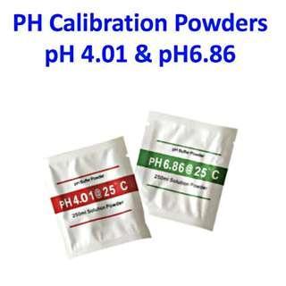 PH Meter Calibration Powders pH 4.01 & pH6.86