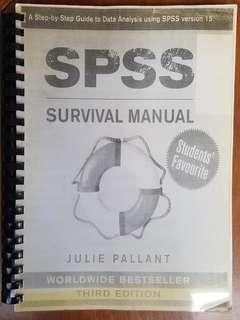 spss survival manual 6th edition download