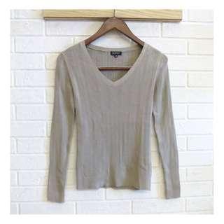 日本品牌 INDIVI 個性毛料針織衫 38