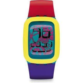 Swatch Digital Watch 2014 (YELLOW TANG)