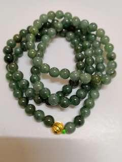 Antiqiue Jade Necklace